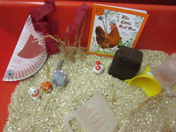 Little Red Hen Sensory Table And Craft Den Lille R 248 De