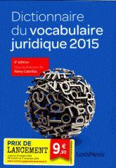 Avec près de 4300 entrées, ce Dictionnaire du vocabulaire juridique donne une définition claire et synthétique des mots spécifiques du droit afin de permettre aux étudiants d'accéder plus facilement à la compréhension de la matière.  321.55 CAB