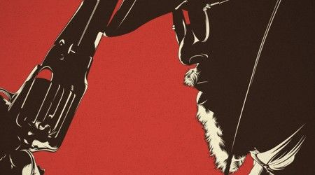 Django Unchained (Ilustración) /Les presento la ilustración vectorial del Spaghetti western del director Quentin Tarantino, en un film que narra la historia