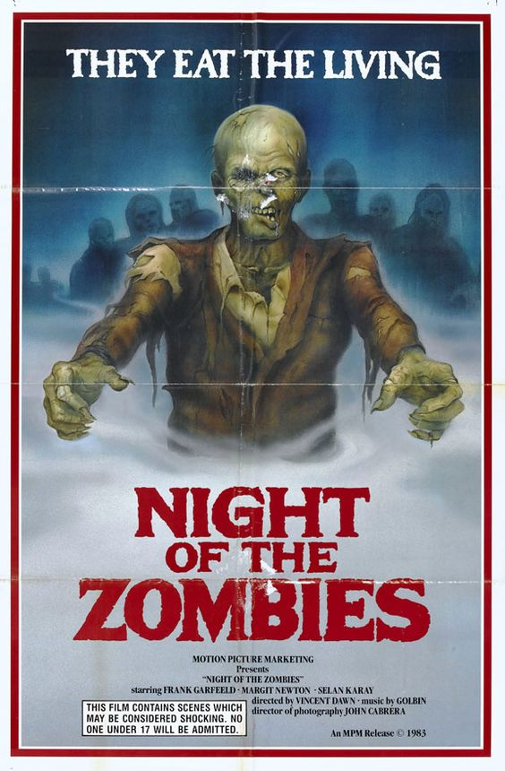 Hell Of The Living Dead aka Night of the Zombies (1980) Nazis/Zombies/Horror