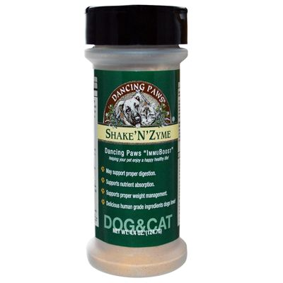 Shake N Zyme is the ideal way to deliver daily enzyme supplementation necessary to promote proper digestion and to assimilate nutrients which is the foundation of superior health. contains organic pulse an edible sea vegetable found in the Atlantic Ocean, high in minerals and helps spark enzyme activity. | Wellness Longevity Digestion Pet Nutrient System.