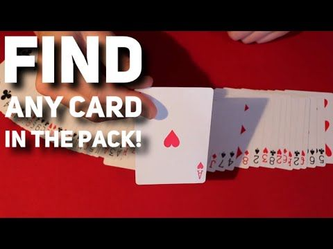 Clever Little Card Trick Youtube In 2020 With Images Card