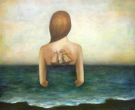 Del cielo hacia la tierra... Entre matices... Fluye la vida... Fluyen mis días... M.A.R.