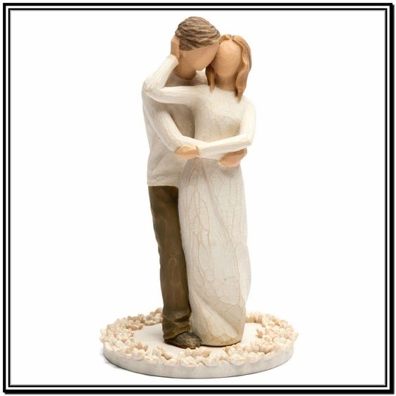 willow tree promise wedding cake topper willow tree cake topper promise kake og kaketopper 27490