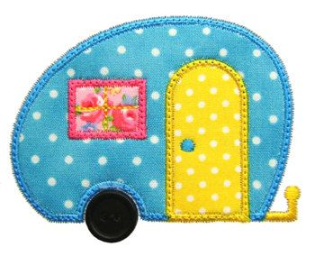 Free Machine Embroidery Design Motor Home