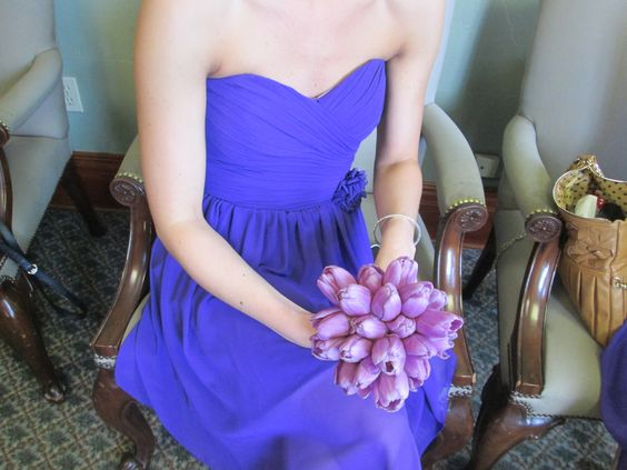 Purple Lavender Tulip Bouquet  Flowers: Posy  Photo: Posy