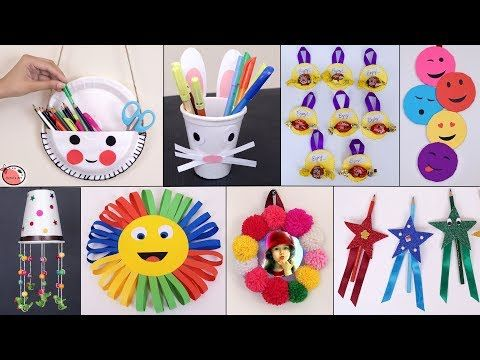 11 Easy Usefull Diy Craft Ideas For Kids Best Out Of Waste