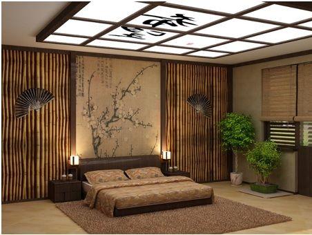 Ideas Para Darle Un Toque Oriental A La Habitación Utilizando Bambú Dormitorio Oriental Decoraciones Asiáticas Dormitorios