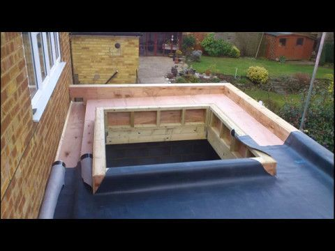 Image Result For Flat Roofs Construction Flat Roof Construction Roof Construction Epdm Flat Roof