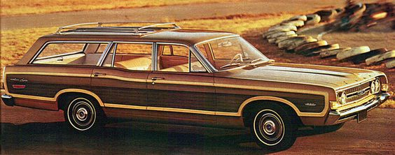 1968 Ford Torino Squire Station Wagon