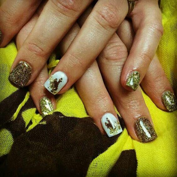 University of Wyoming Nails