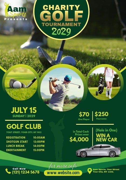 Charity Golf Tournament In 2021 Golf Poster Sport Poster Golf Charity Event