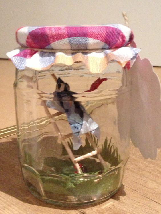 Money frog gift , Geldgeschenk Frosch im Glas.  gift ideas ...