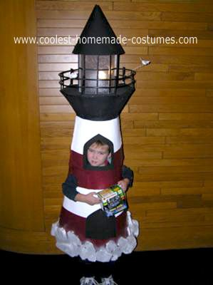 Coolest Homemade Lighthouse Costume Jordans Homemade