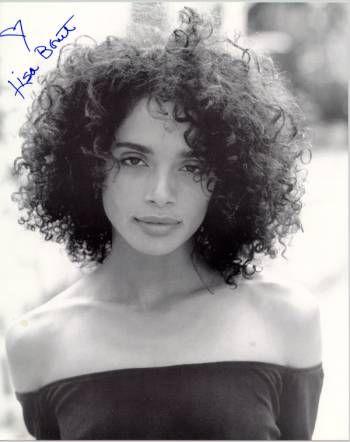 Lisa Bonet - reminds me of my beautiful daughter. Of course, my daughter is lovelier. @cait: