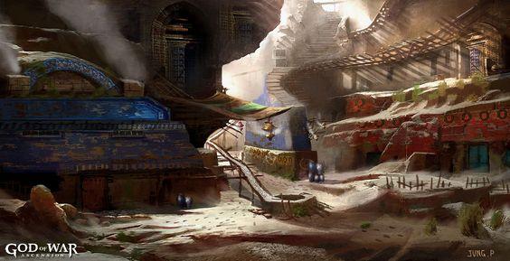 Concept art, God of War: Ascension
