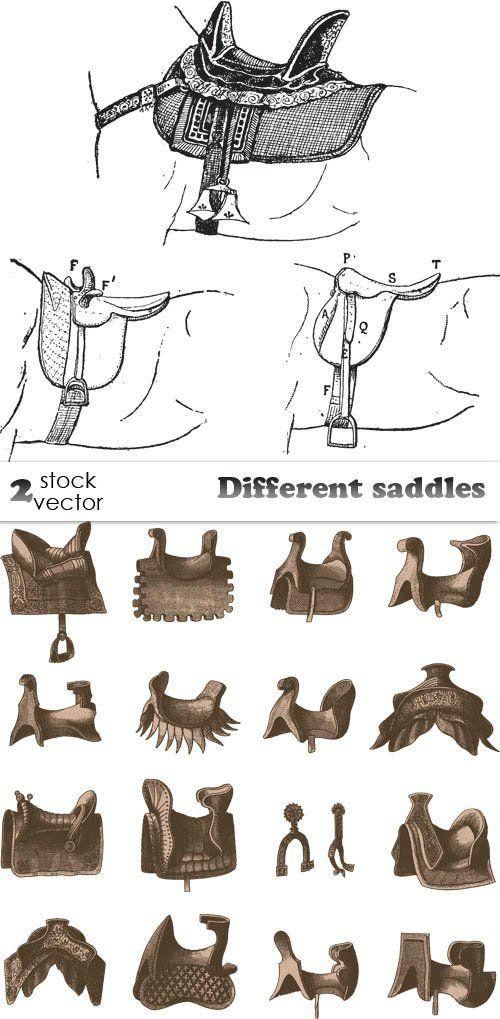 Different saddles
