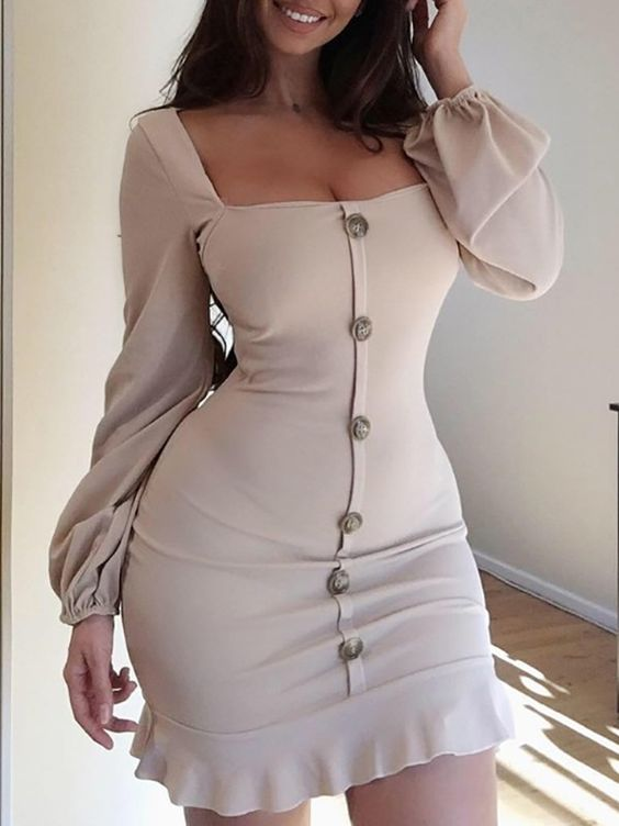34 Casual Elegant Body Dresses For Starting Your Spring Summer outfit fashion casualoutfit fashiontrends