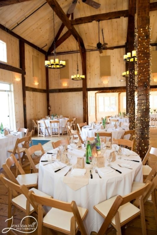 This Historic Maine Wedding Venue Has An 18th Century Barn Thats Been Restored For Sophisticated Rustic Style Events