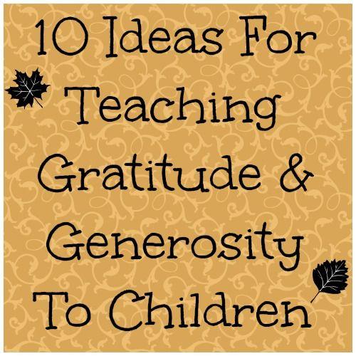 Essay on generosity