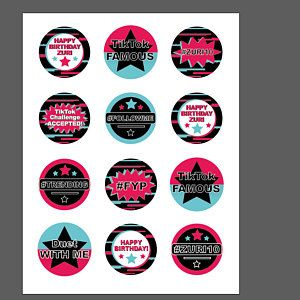 You Ve Got To Check Out These Cool Tiktok Water Bottle Labels See More Party Ideas And Shar Party Labels Printable Birthday Party Printables Free Party Labels