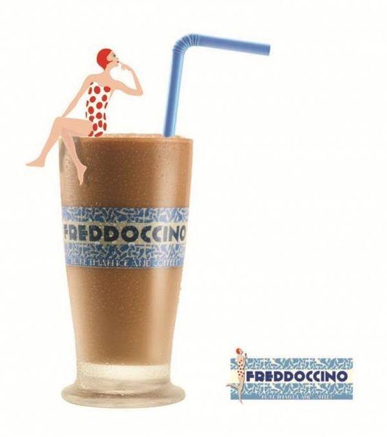 Seu domingo pode começar muito mais gostoso com um FREDDOCCINO®  Delicioso espresso batido com chocolate cremoso, sorvete de creme e decorado com chantilly.