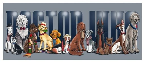 Artist Draws Doctor Who Perfectly As Doctors Dog Breeds | The Mary Sue by amparo