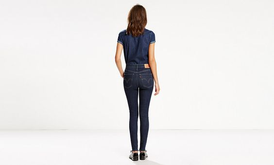 With an ultra high rise and super skinny leg, these jeans will make your legs look a mile long. The advanced super stretch fabric holds, lifts and forms to your body. Enhanced recovery means these jeans keep their shape over time.