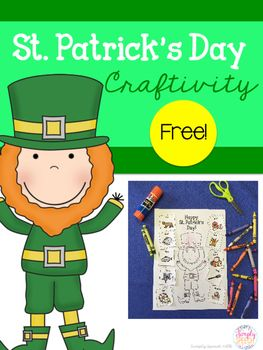This is a fun, open-ended craftivity that your students can create as they practice target speech sounds. Included is a black and white leprechaun template. Glue pictures that include target sounds (or draw your own) inside the clovers. Pictures of target words are not included but you can download lots of FREE pictures from www.mommyspeechtherapy.com