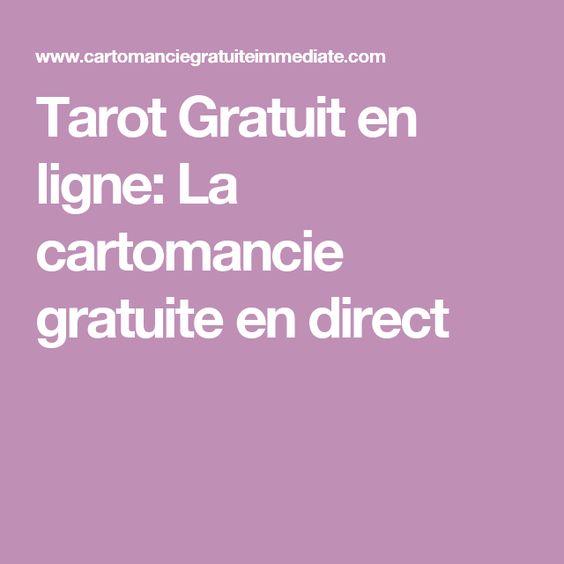 Tarot Gratuit en ligne: La cartomancie gratuite en direct