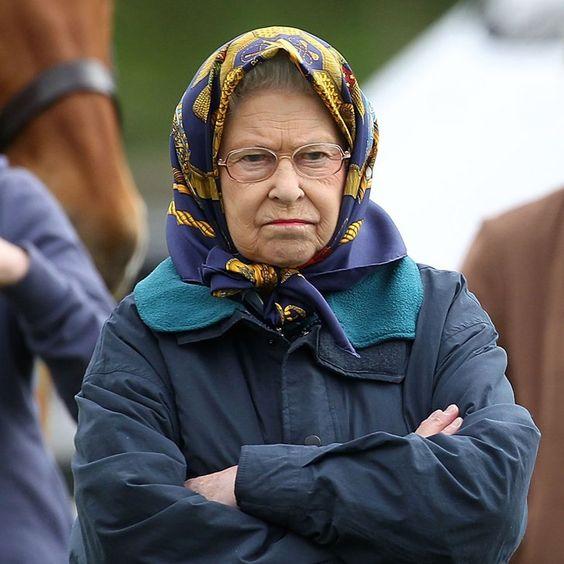 Pin for Later: Elizabeth II d'Angleterre: le Guide de Ses Nombreuses Expressions Faciales
