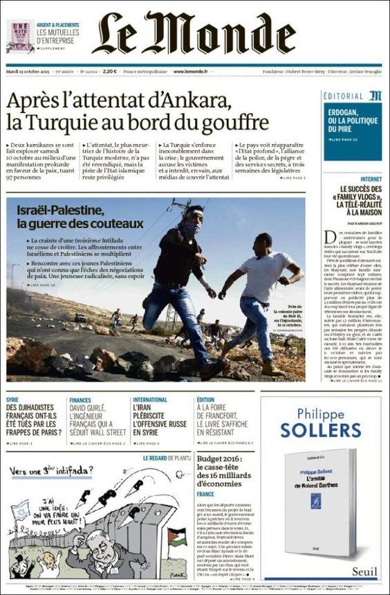 Le Monde 22002 - Mardi 13 octobre 2015