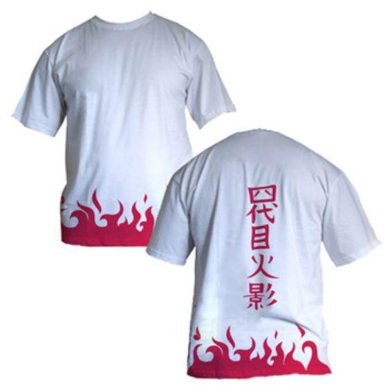 Camiseta Naruto - Yondaime. Acesse > Buscamisas - A loja de anime agora ainda mais perto de você!!