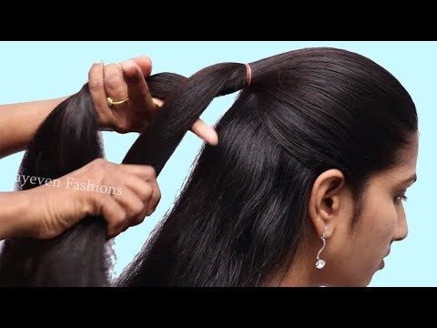 Quick Braided Hairstyle For Work Office Party Updo Hairstyles Hair Style Girl Youtube In 2020 Party Hairstyles Party Hairstyles For Girls Long Hair Girl
