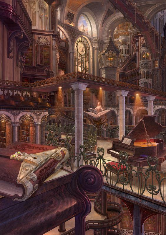 Lugares Irreales, Planeta Fantasía, Paisajes Magicos, Escenarios, Imatges, Ilustraciones, Casas, Arte Paisajes, Paisaje De Fantasía