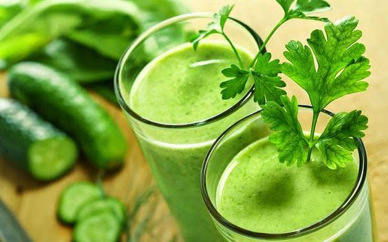 Sucos  & Chás: Suco verde detox