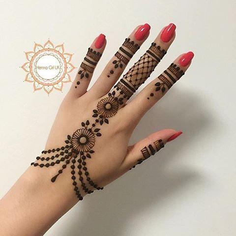 Henna Tutorial 4 Ganze Hand Sanny Kaur Youtube
