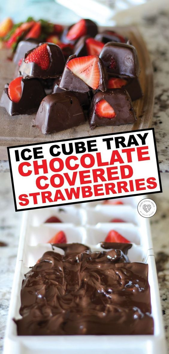 Chocolate Covered Strawberries HACK!