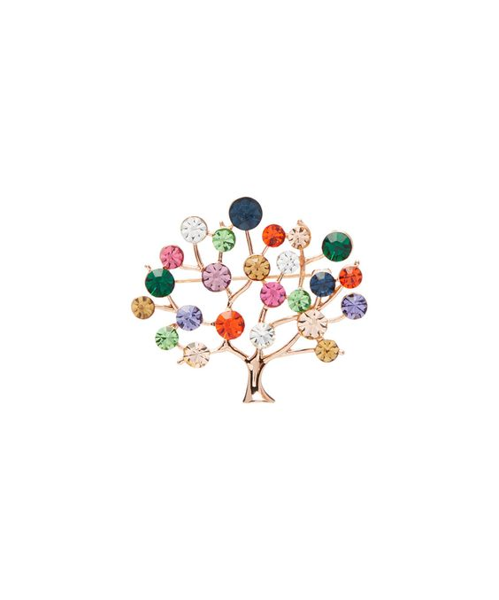 Take a look at this Pavcus Designs Multicolor Rhinestone Tree Pendant/Brooch today!