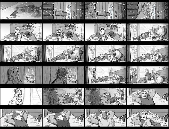 Storyboards Disney
