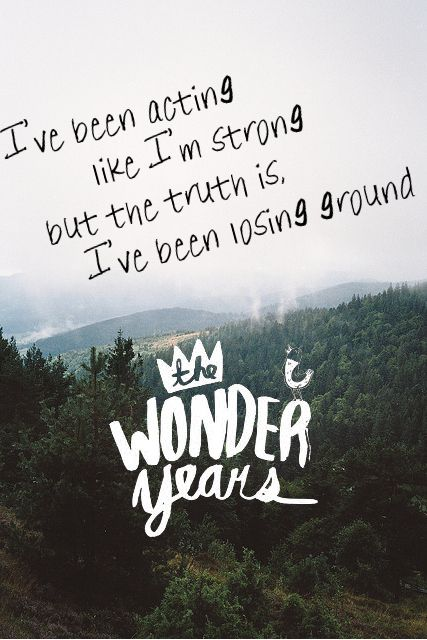 Also, their fan art is pretty rad too.   If You Like Pop Punk And Aren't Listening To The Wonder Years, You're Seriously Missing Out