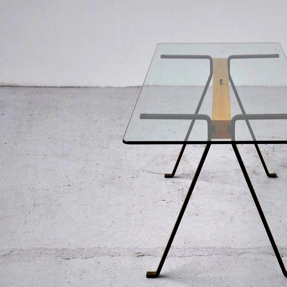 Enzo Mari; 'Frate' Table for Driade, 1973.