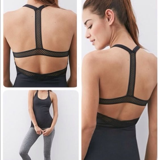 Súper cute strappy workout top ONE DAY SALE ONLY - Workout top Tops