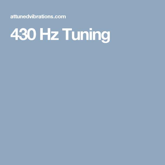 430 Hz Tuning