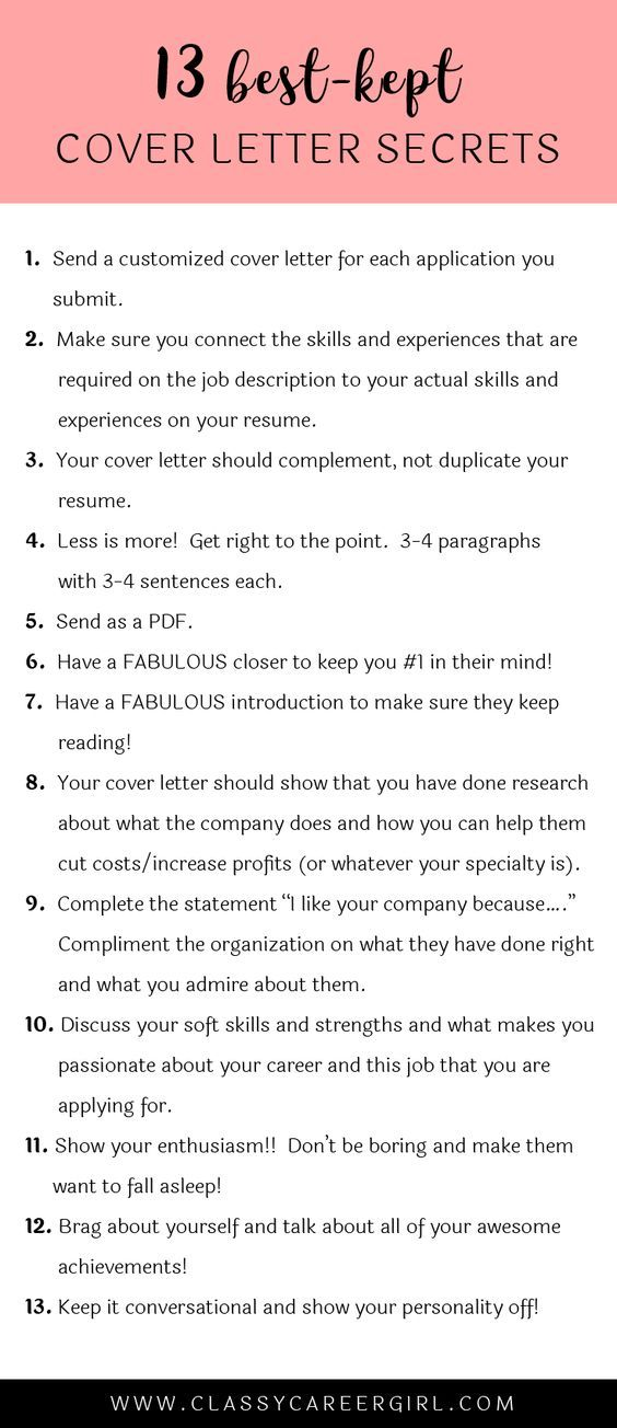 Cover Letter Outline Cover Letter Tips  Cover Letter