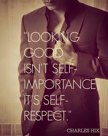 El reflejo de vestir bien