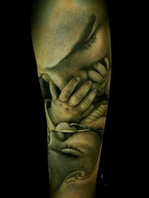 Tattoo vater tochter ideen