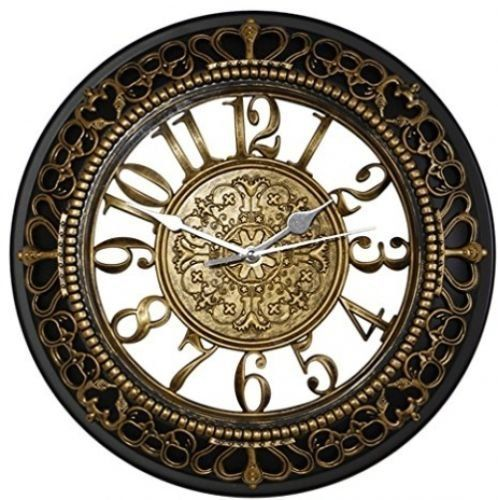 Metee 12 Inch Silent Wall Clocks European Style Vintage Retro Antique Royal Decor Home Vintage Wall Clock Wall Clock Vintage Style Retro Wall Clock