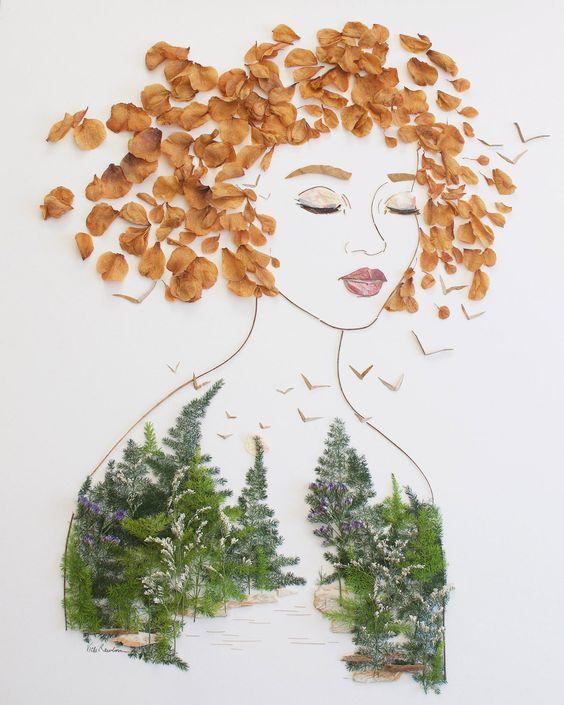 """Be Wild"" Flower Print"