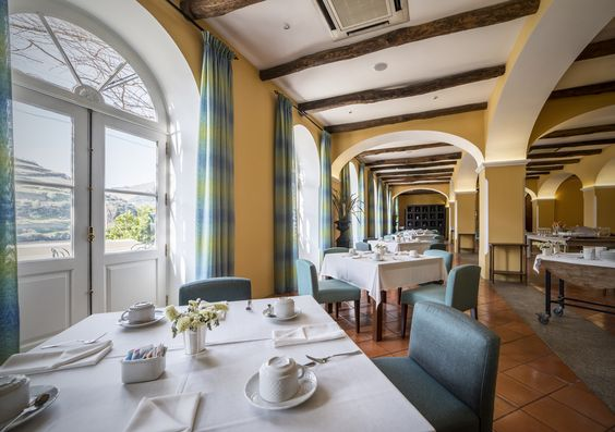 Breakfast room at The Vintage House #Hotel, #Douro #Portugal